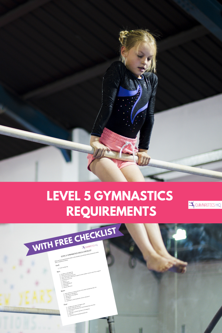 Level 5 Gymnastics Requirements