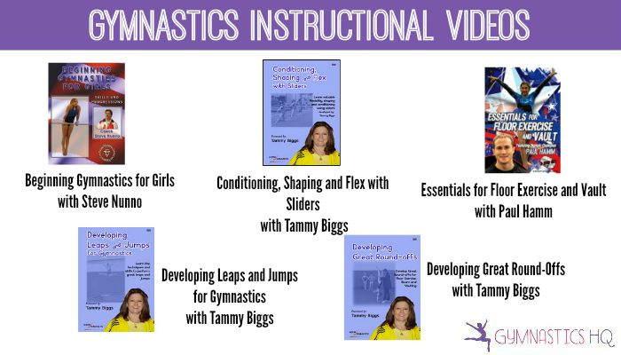 gymnastics instructional videos