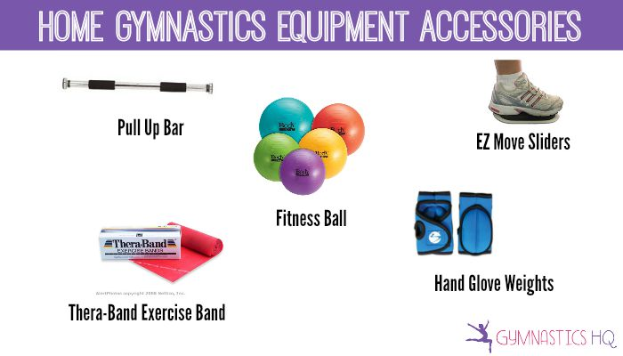 home gymnastics equipment accessories