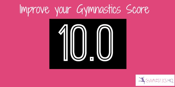 improve your gymnastics score