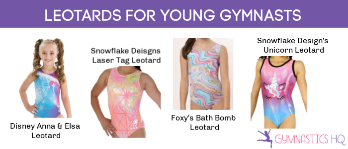 leotards for young gymnasts