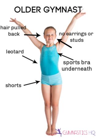 older gymnast teen wear to gymnastics class