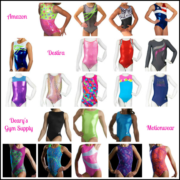 Gymnastics clothing online