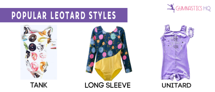 gymnastics leotard styles