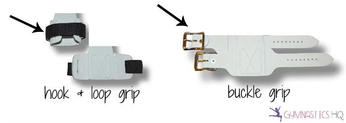 hook and loop vs buckle gymnastics grips, best gymnastics grips