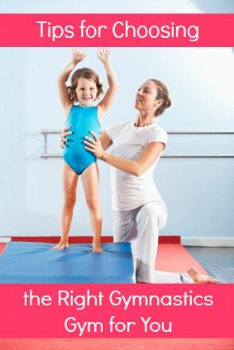 tips for choosing gymnastics gym
