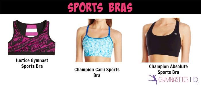 gymnastics sports bras