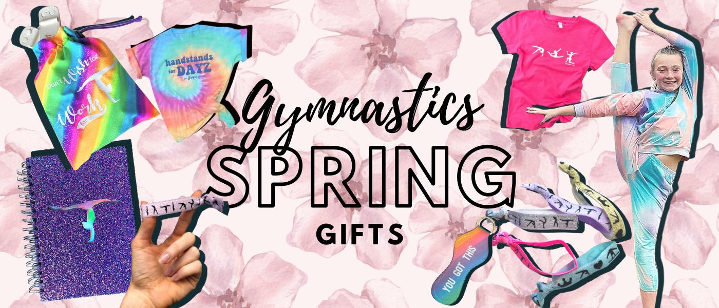 Gymnastics spring gifts