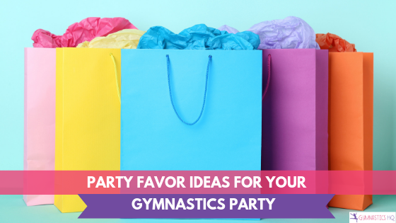 Looking for some ideas for your gymnastics party? Check out these gymnastics party favor ideas.