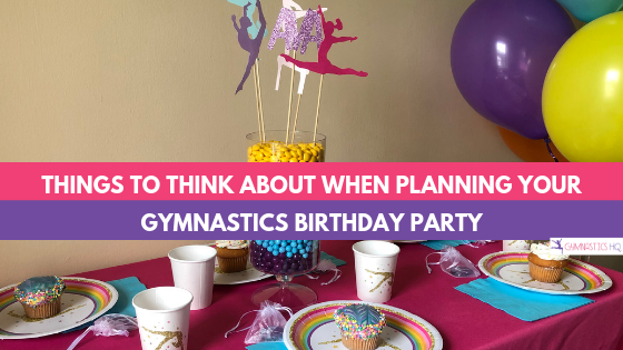 Gymnastics Party Ideas \u0026 Supplies for a Home or Gym Party