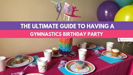 Gymnastics Party Ideas Supplies For A Home Or Gym