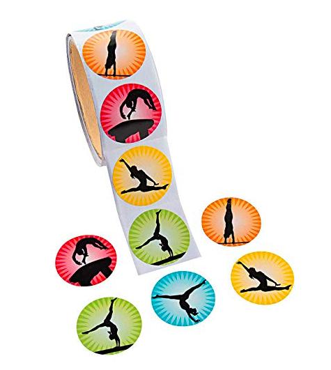Gymnastics Stickers