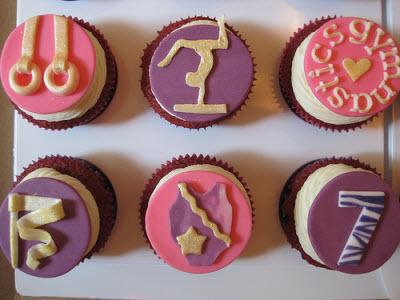 Gymnastics-Cupcakes