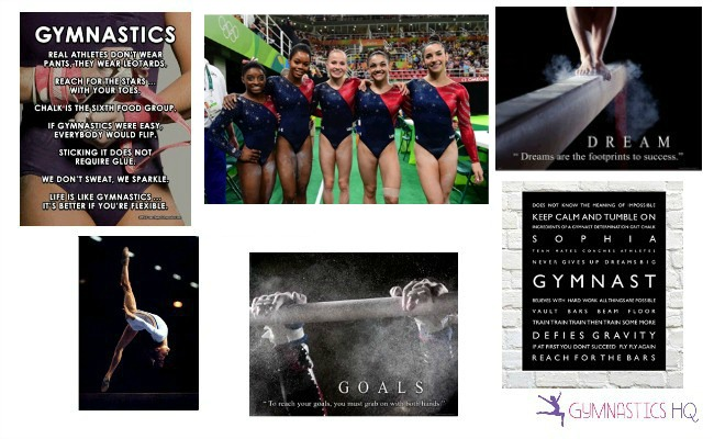 gifts for gymnasts posters