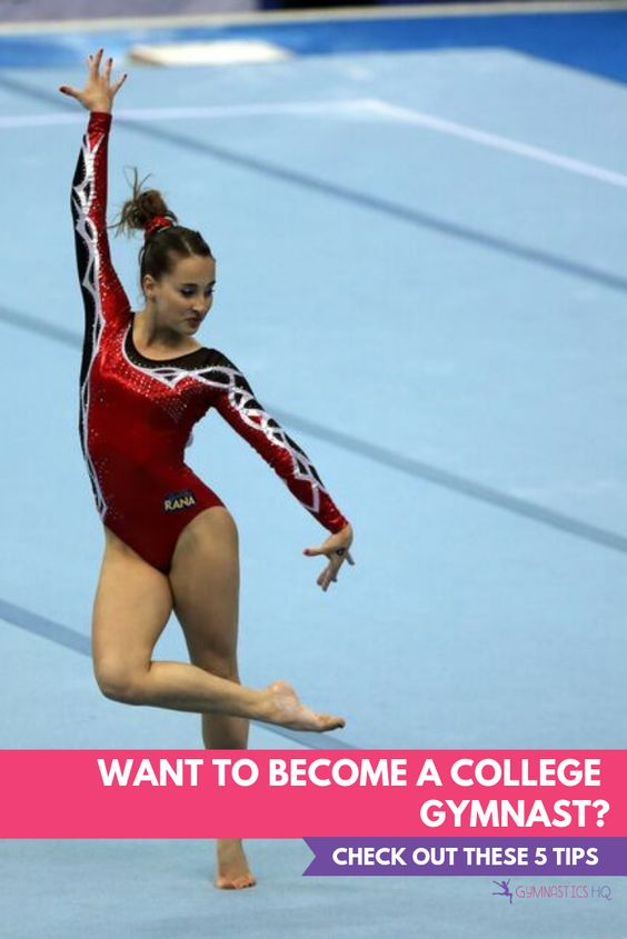 Want to become a college gymnast? Check out these 5 tips!