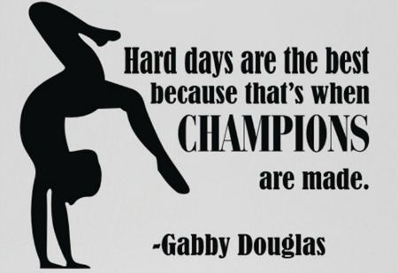 gabby douglas gymnastics quote