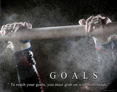 goals gymnastics quote