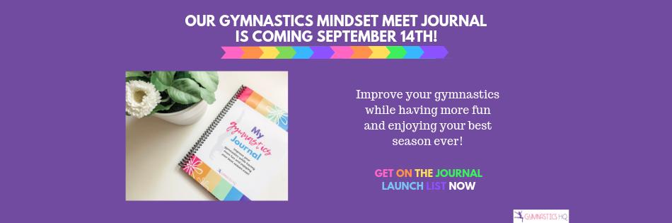 Gymnastics Mindset Meet Journal