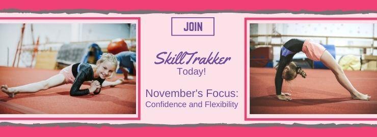 SkillTrakker's November Confidence & Flexibility Challenge