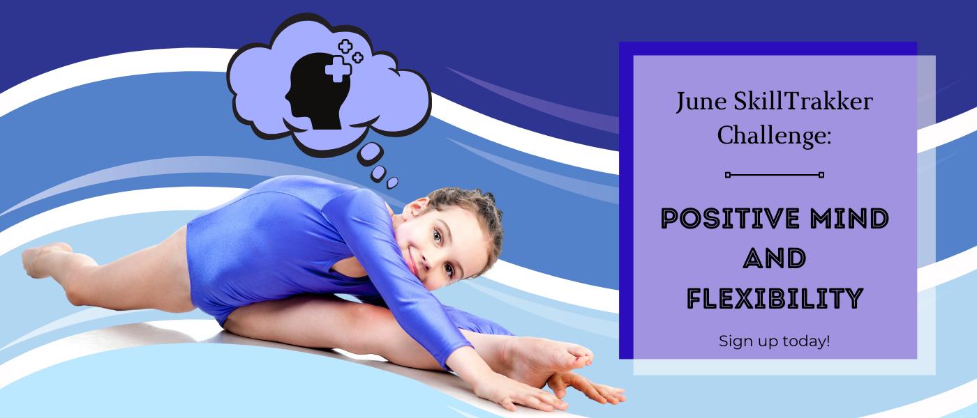 June positive mindset and flexibility challenge