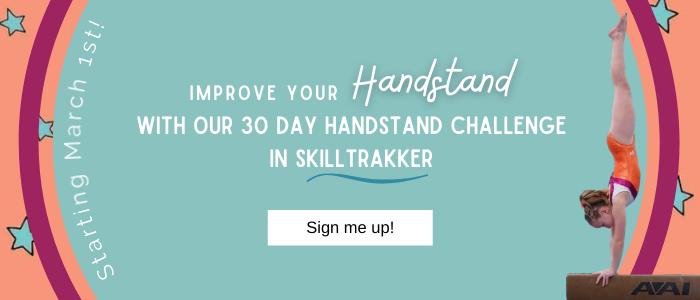 gymnastics handstand challenge
