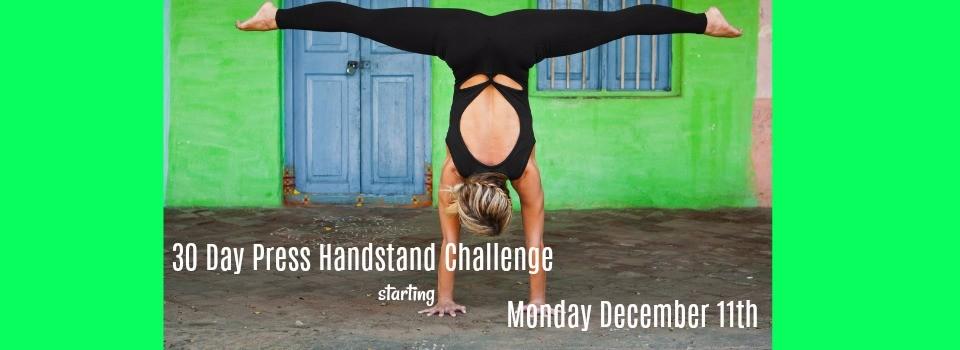 slider press handstand challenge