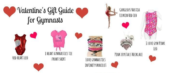 valentines day gift gymnast slider
