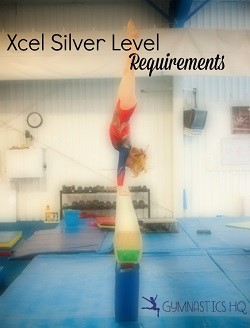 gymnastics xcel silver level requirements