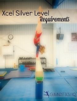 gymnastics xcel silver level requirements