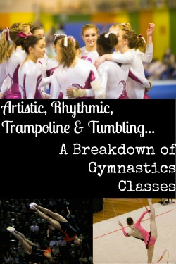 artistic, rhythmic, crossfit gymnastics classes