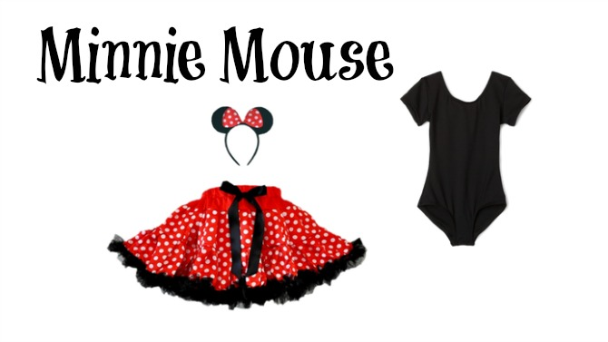 minnie mouse costume with leotard