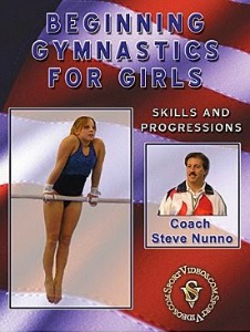beginning gymnastics for girls video