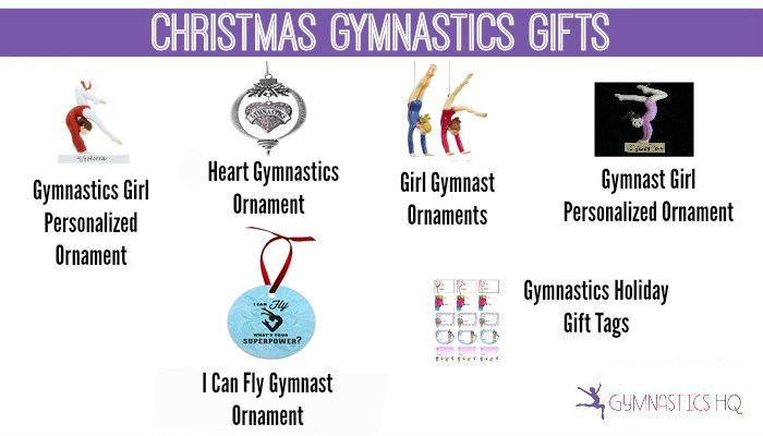 christmas gymnastics ornaments