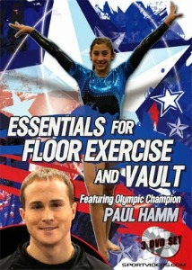 essentials for floor exercise and vault paul hamm video