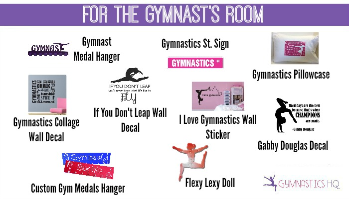 for the gymnasts room gift guide