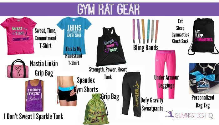 gymnastics gifts shirts sweatpants gear