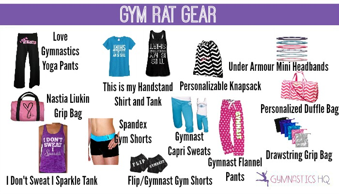 gym rat gear gifts