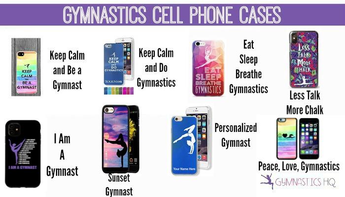 gymnastics cell phone cases