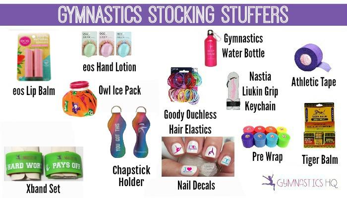 gymnastics stocking stuffers gifts