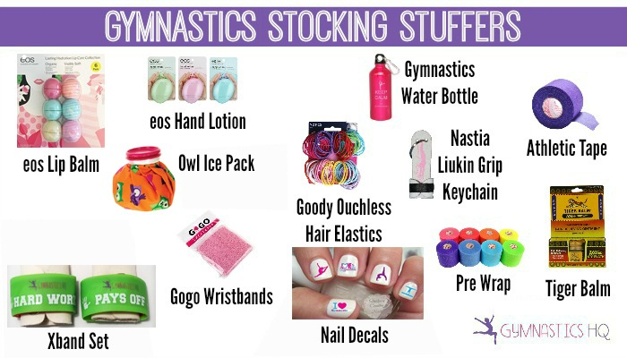 gymnastics stocking stuffers gifts