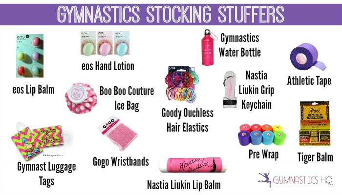 gymnastics stocking stuffers