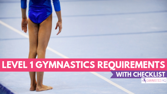 Level 1 gymnastics requirements