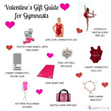 Valentine's Day Gift Ideas for Gymnasts