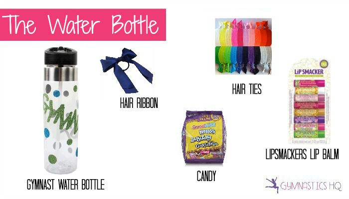 gymnastics water bottle gift idea