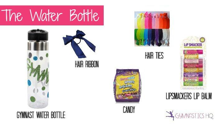 gymnastics water bottle gift idea