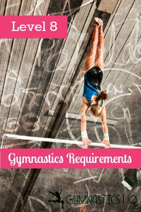 level 8 gymnastics