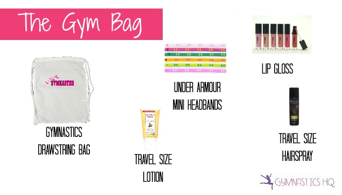 older gymnast goody bag idea