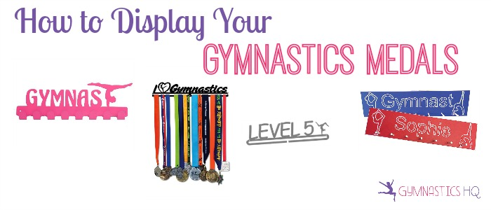 display gymnastics medals