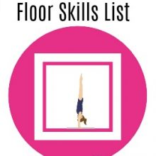 Gymnastics Skills List: Floor