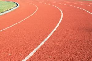 practice gymnastics track